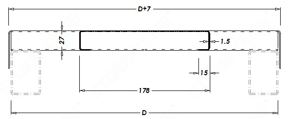 Полочная панель для паллетного стеллажа