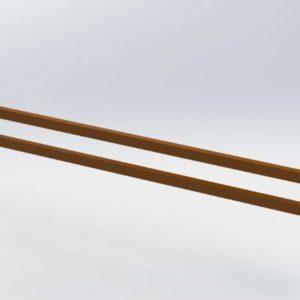 Торцевой способ зашиты стеллажа