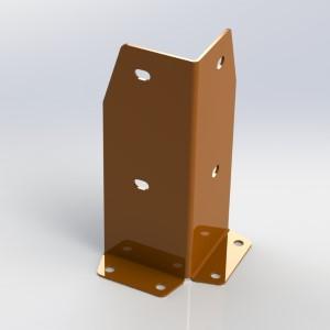 Металлическая защита стеллажей