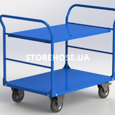 Платформенная складская тележка SHVV-2-3