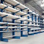 Консольный стеллаж для длинногабаритных грузов