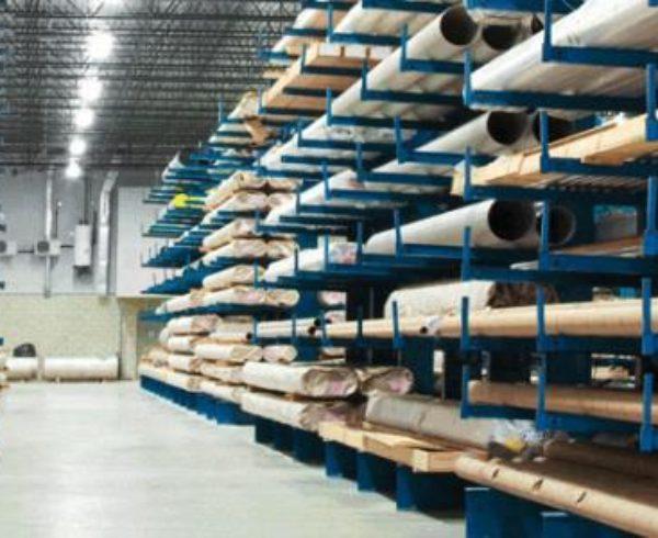 Моджификации консольных стеллажей