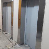 Лифтовое обрамление из нержавейки