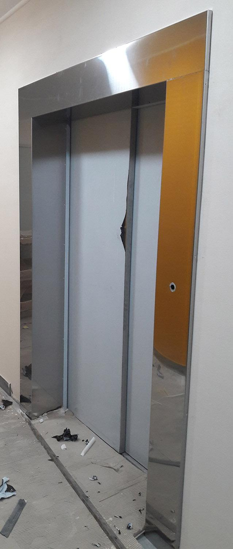 Обрамление для лифтов