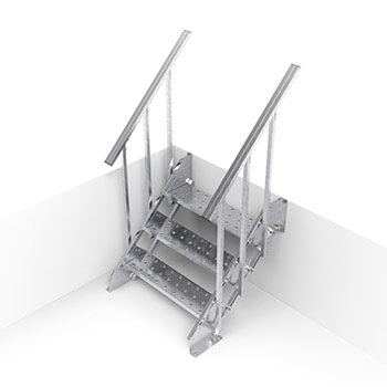 Лестницы вспомагательные