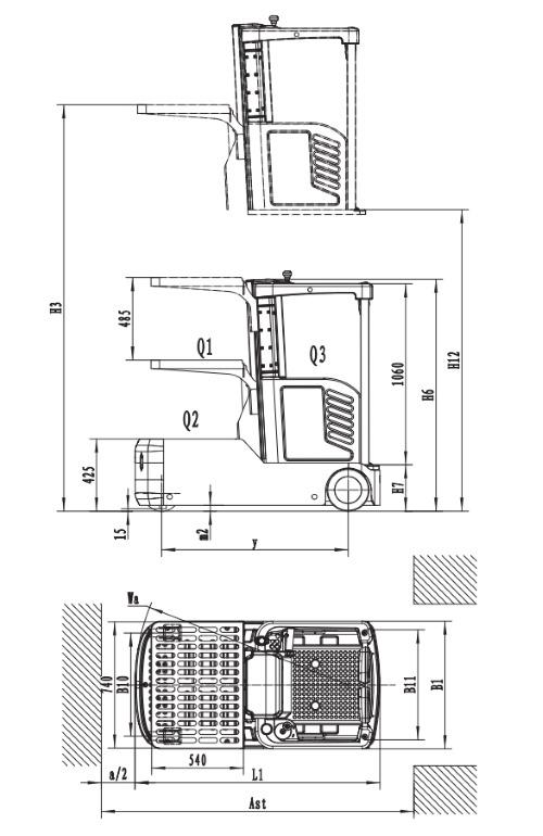 Электрические вертикальные комплектовщики